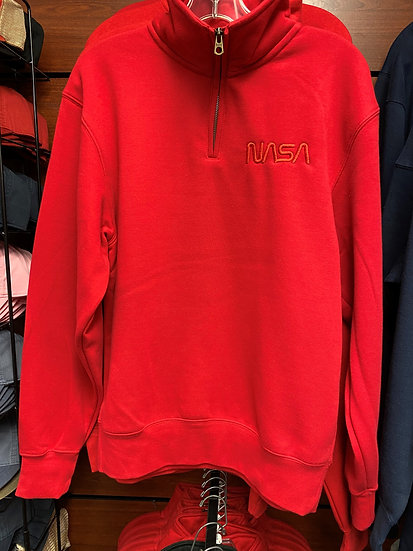 NASA Big Detroit 1/4 Zip Unisex