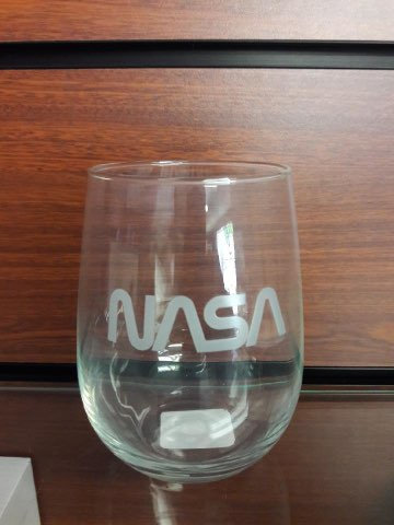 NASA Stemless Wine Glass 17 Oz