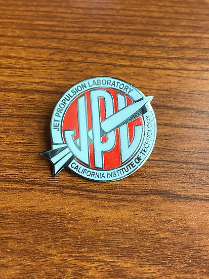 Lapel Pin - Vintage JPL Red