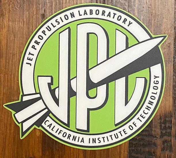 STICKER - Vintage JPL Green