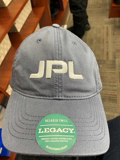 JPL Cap blue/grey with white letters