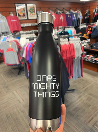 """JPL Water Bottle- """"Dare Mighty Things"""" Mix Colors"""