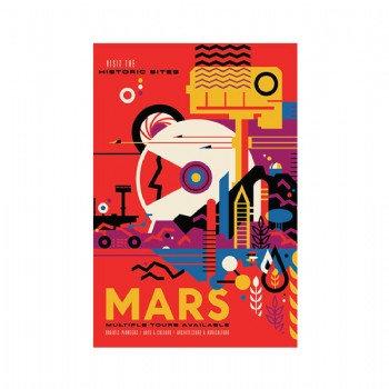 Exoplanet - MARS  5 x 7 Postcard