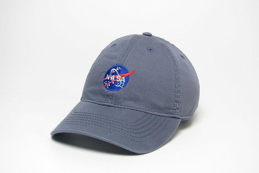 NASA Blue-Gray Cap
