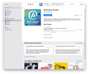 Apple Podcasts for MacOS - reviews