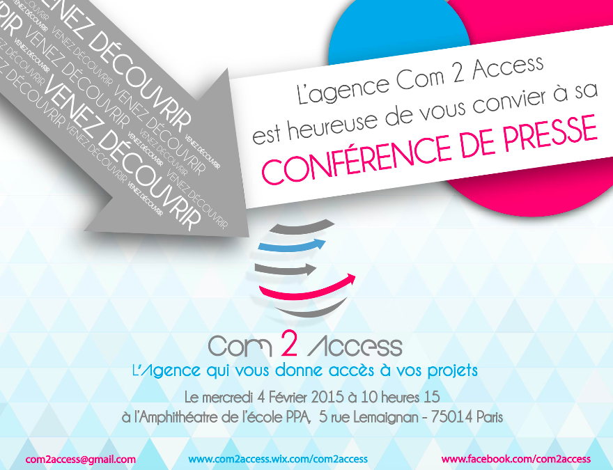 C2A - Invitation Conférence de Press