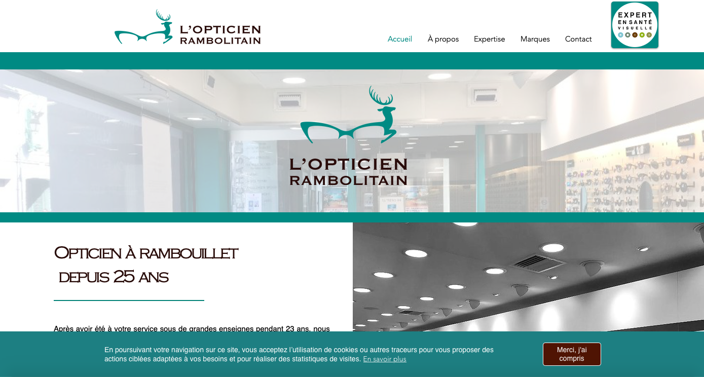 L'OPTICIEN RAMBOLITAIN