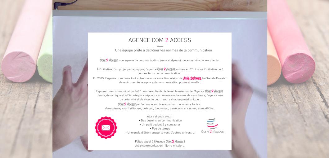 C2A - Site web 2016