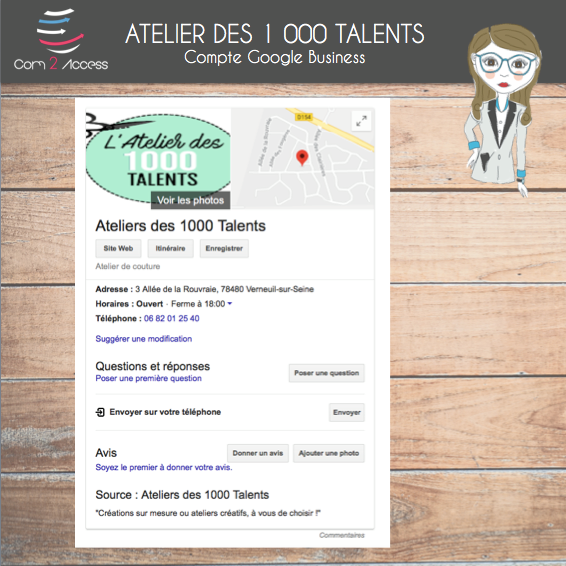 Atelier des 1000 Talents