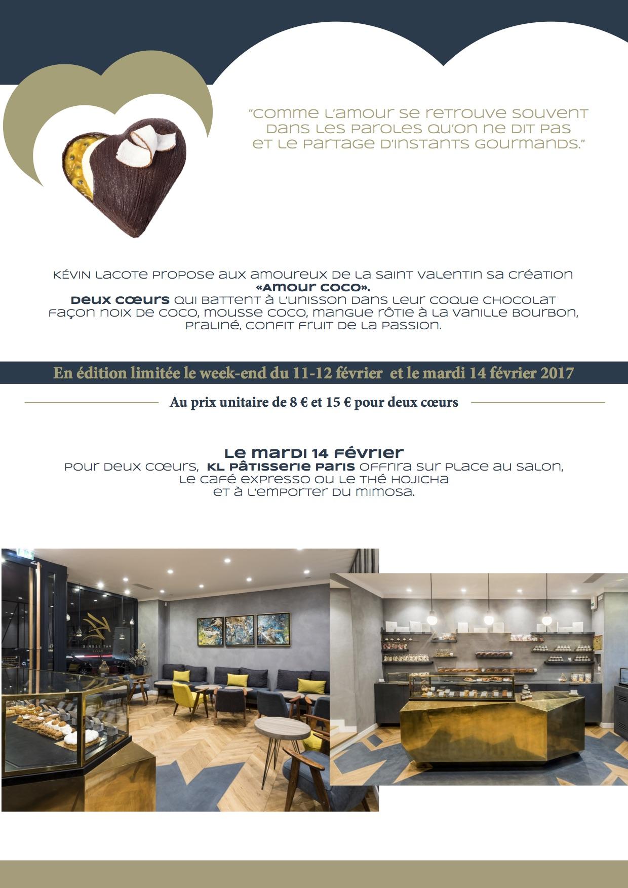 KL Pâtisserie Paris - CP