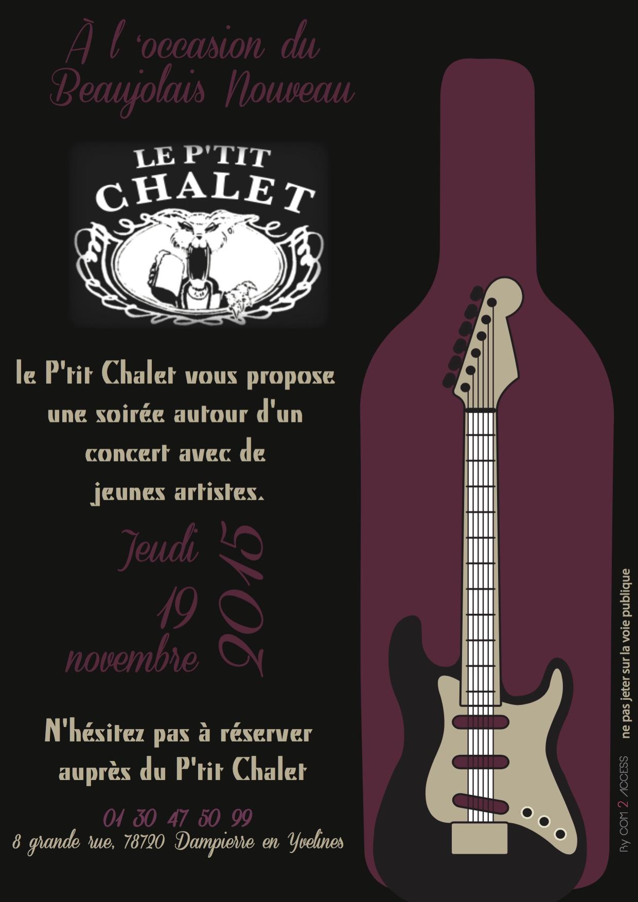 Le P'tit Chalet - Affiche