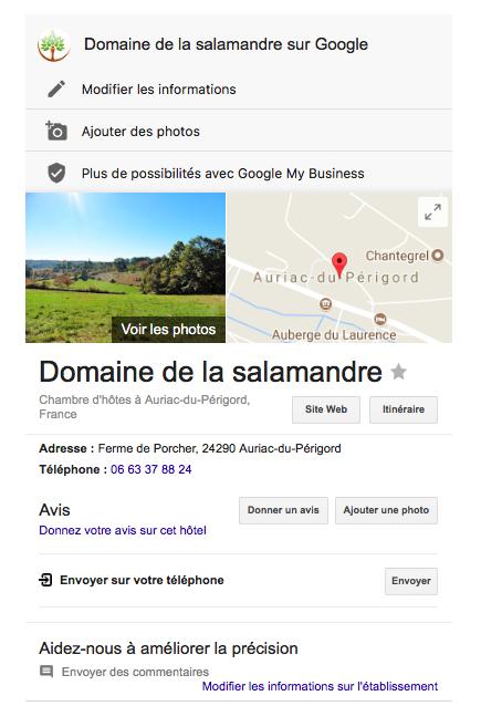 Domaine de la Salamandre