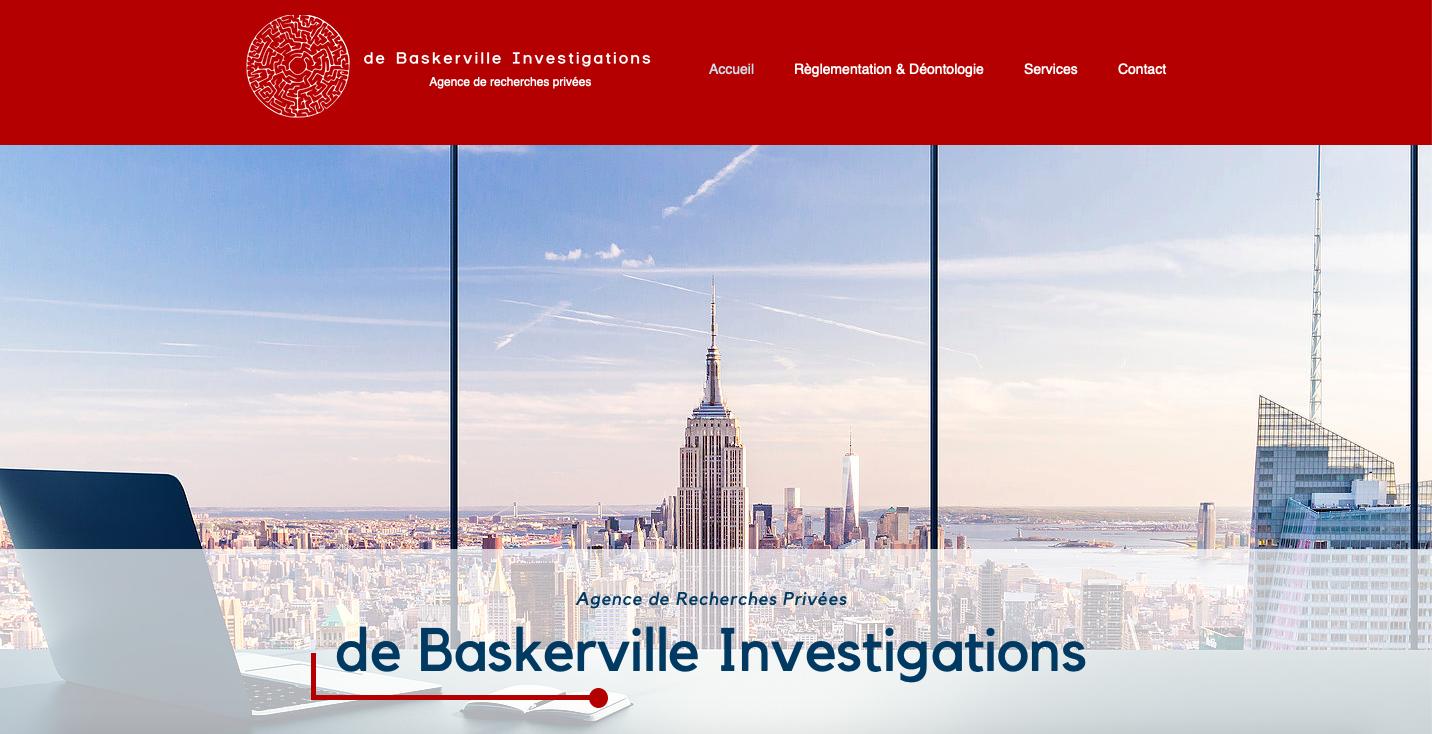DE BASKERVILLE INVESTIGATIONS