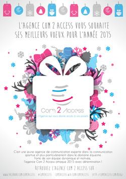 C2A - Carte de voeux 2015