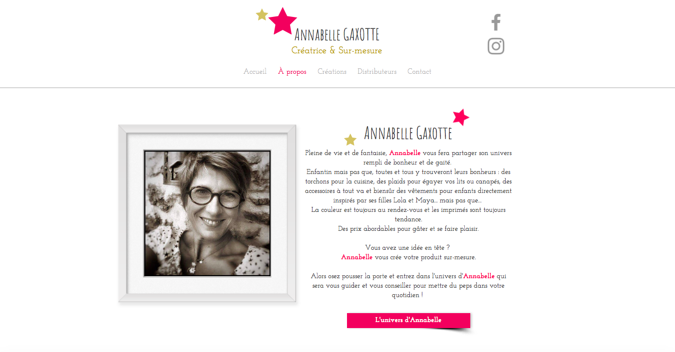 ANNABELLE GAXOTTE