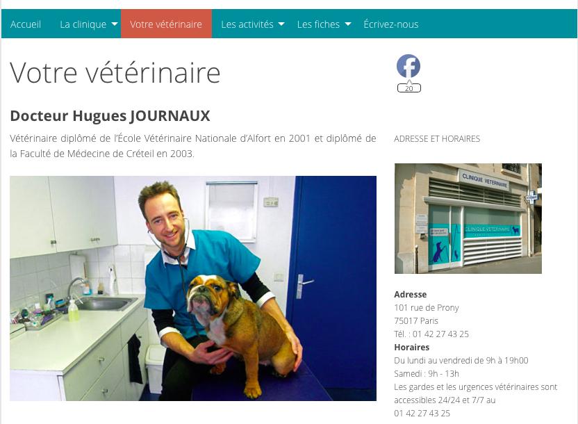 Vétérinaire 17 - Hugues Journaux