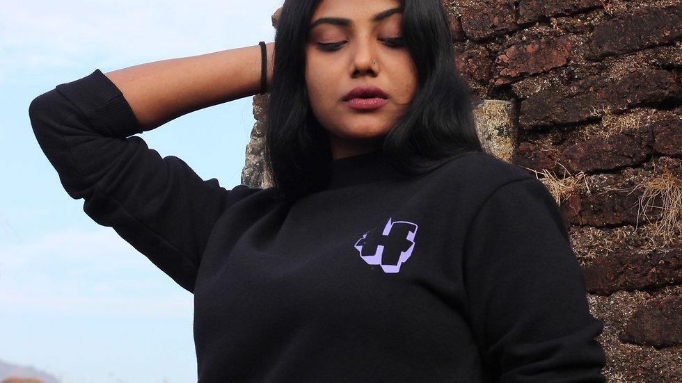 Hustle Swag Shirt              Unisex Black Sweatshirt
