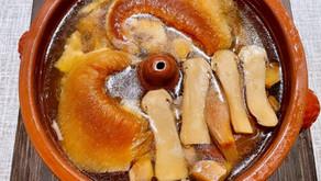 雲南省の松茸とアオザメのフカヒレです!
