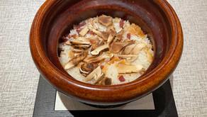 雲南省産の松茸ご飯の試作品です!