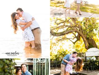 Sandra + Anh | Engagement | Fairhope, Alabama