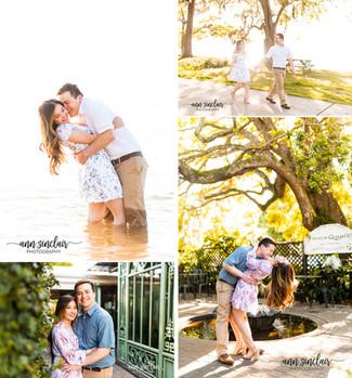 Sandra + Anh   Engagement   Fairhope, Alabama