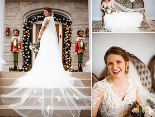 Breana | Bridal Portraits | The Pillars | Mobile, Alabama