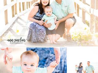 Waddell Family | Caleb's 1st Birthday | Fairhope, Alabama