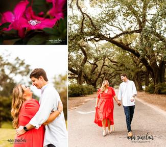 Emily + Kyle | Engagement | Spring Hill College | Mobile, Alabama
