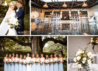 Mary Collins + Patrick | Wedding | Ashland Place United Methodist Church + Crown Hall | Mobile, Alab