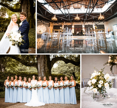 Mary Collins + Patrick | Wedding | Ashland Place United Methodist Church + Crown Hall | Mobile, Alab