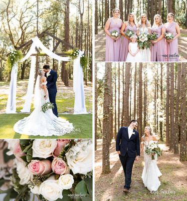 Jadi + John | Wedding | The Elizabeth in Grand Bay | Grand Bay, Alabama