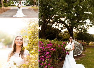 Allyson | Bridal Portraits | Spring Hill College | Mobile, Alabama