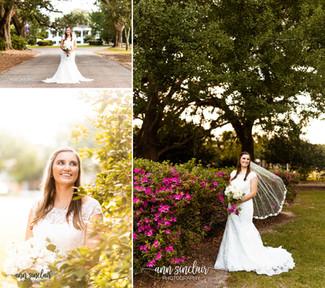 Allyson | Bridal Portraits | Spring Hill College | Mobile, Alabama