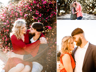 Anne + Tate | Engagement Photos | Mobile, Alabama