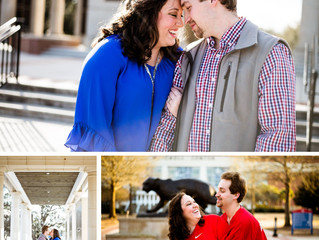 Sara + Chase | Engagement | Mobile, Alabama | University of South Alabama