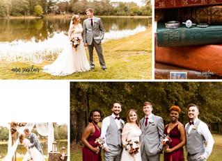 Karie + Matthew | Wedding | Reform, Alabama