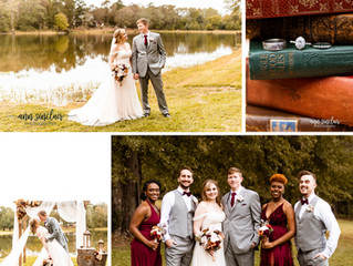 Karie + Matthew | Wedding | Reform, Alabama