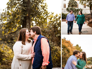 Hunter + Will | Engagement | Spring Hill College | Mobile, Alabama