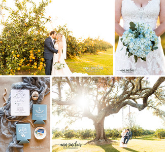 Meagan + Garrett   Wedding   The Orchard at Hayes Farm   Theodore, Alabama