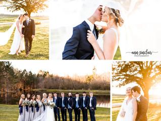 Kristian + Chris | Wedding | Triple T Farms | Fruitdale, Alabama