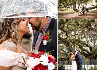 Alexis + Curtis | Elopement | Downtown Mobile, Alabama