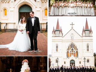 Toni + Benton | Wedding | St. Joseph's Chapel + Country Club of Mobile | Mobile, Alabama