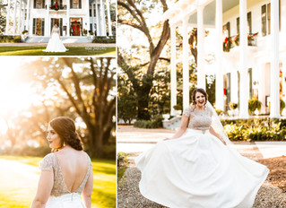 Allison | Bridal Portraits | Bragg-Mitchell Mansion | Mobile, Alabama
