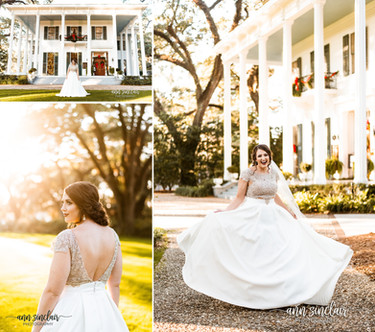 Allison | Bridal Portraits | Bragg-Mitchell Mansion | Mobile, Alabama