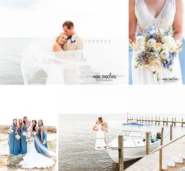 Lauren + Michael | Wedding | Mobile Yacht Club | Mobile, Alabama + Dauphin Island, Alabama