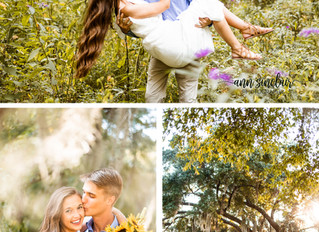 Julie + Mason | Engagement | Handey's Farm and Nursery + The Oaks Plantation | Pike Road, Alabam