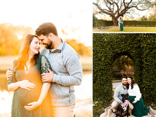 Megan + Nick | Maternity | Heron Lakes Country Club | Mobile, Alabama