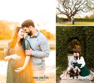 Megan + Nick | Maternity | Heron Lakes Country Club | Mobile, Alabama