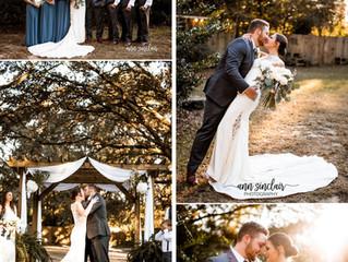 Brittany + Morgan | Wedding | The Venue at Dawes | Mobile, Alabama