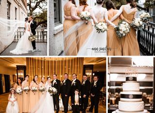 Courtney + Sean | Wedding | The Admiral Hotel | Mobile, Alabama